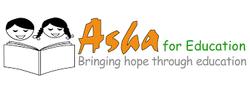 Asha for education logo