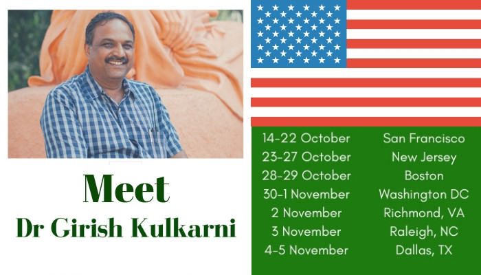 Girish Kulkarni visits USA
