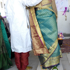 Bride and Groom. Traditional.