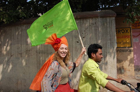 Flying the flag for Snehalaya