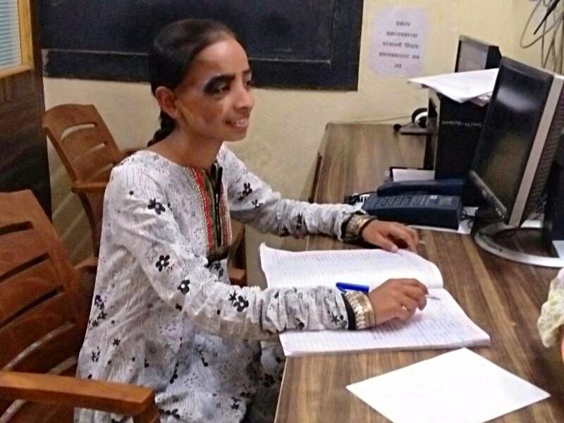 Sanika hasn't let prejudice prevent her education