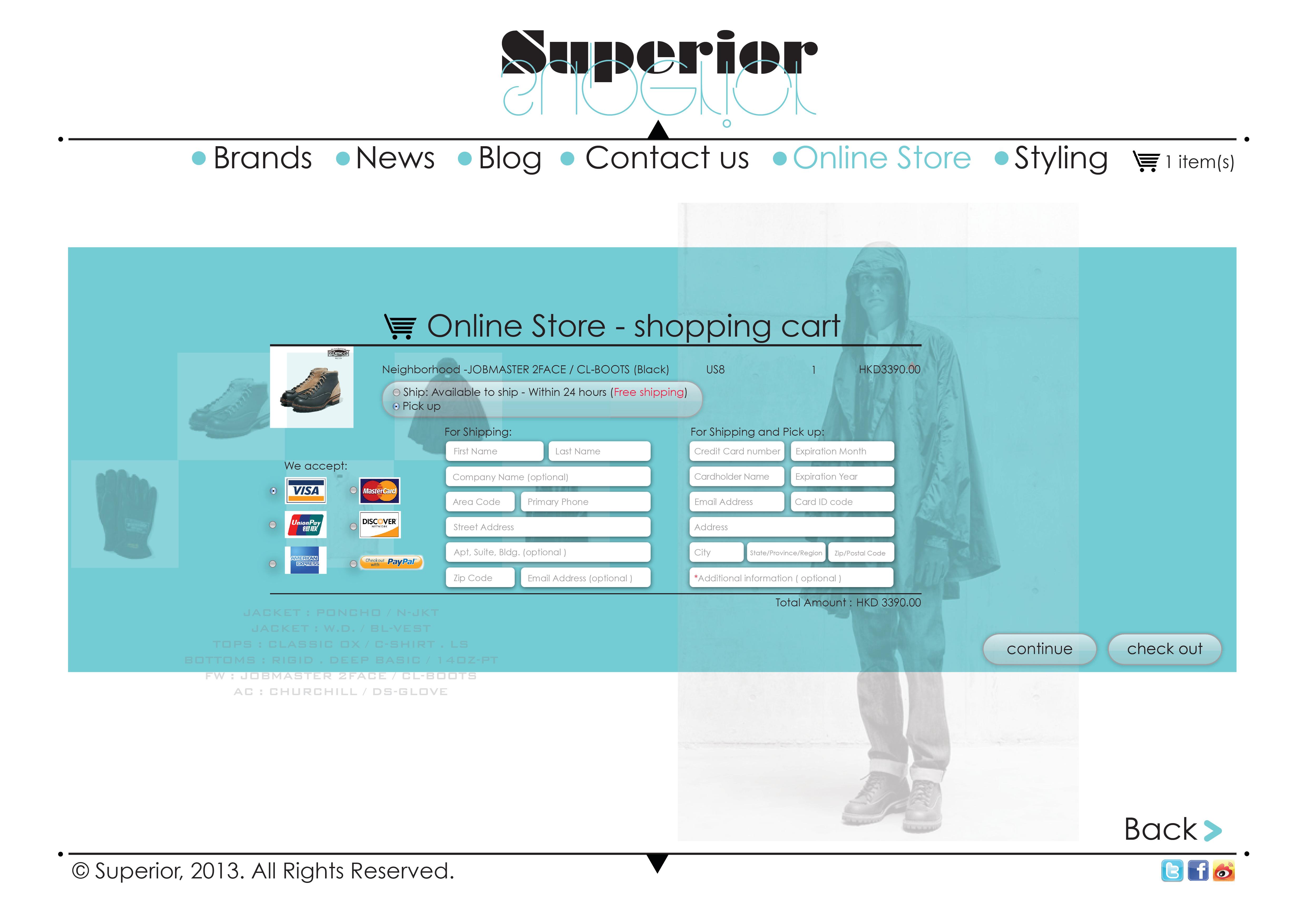 online store( payment part3 )