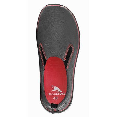 Zapato Balckfox Derby negro/rojo