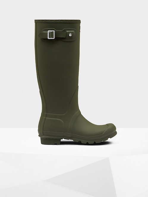 Botas Hunter original tall olive green