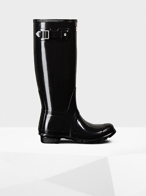 Botas Hunter original tall GLOSS black