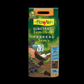 Substrato semillero de Flower