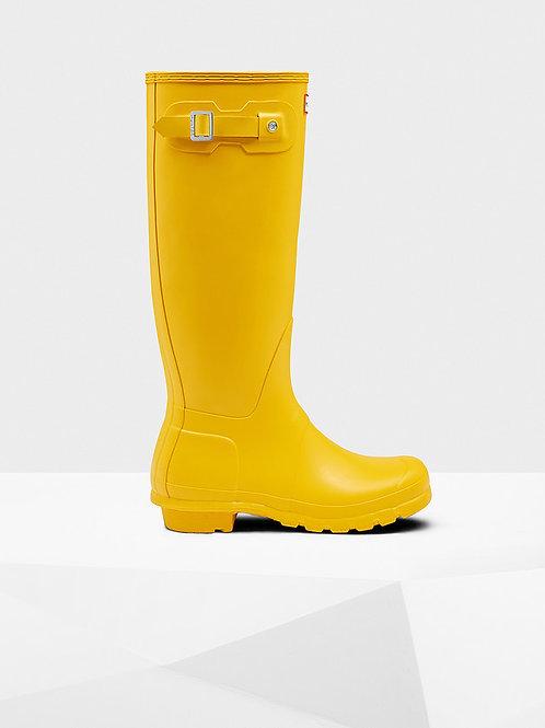 Botas Hunter original tall yellow