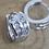 Thumbnail: Creole in Silber 925 mit Zirkonia