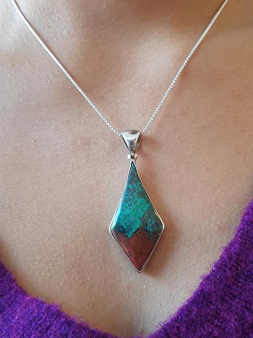 Sonora Sunset Cuprit Silberanhänger, von Starborncreations
