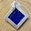 Thumbnail: Silber mit Feingold, Anhänger mit Lapis-Lazuli, Unikat