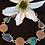 Thumbnail: Designerarmband in Silber mit antikem römischen Glas und römischen Münzen