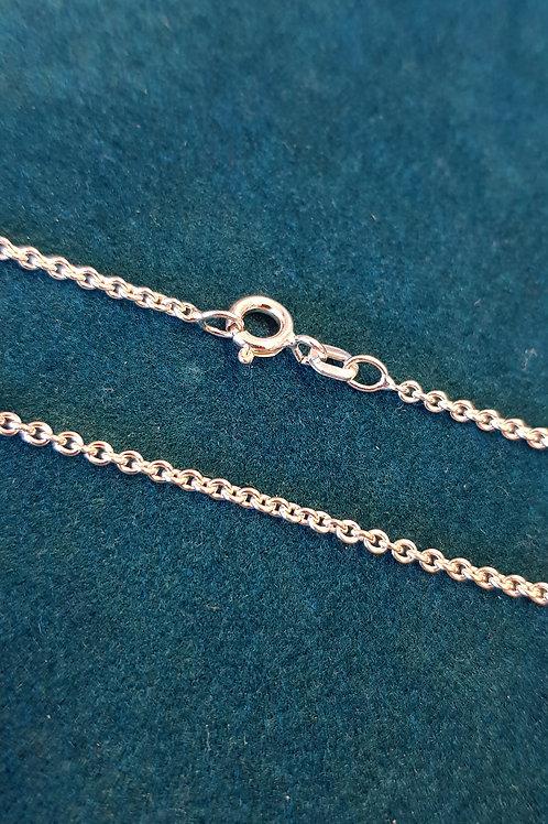 Collierkette Silber Rundanker