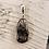 Thumbnail: Agoudal Eisenmeteorit mit Silberschlaufe von Starborncreations
