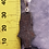 Thumbnail: Agoudal Eisenmeteorit an Silberschlaufe, von Starborncreations