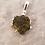 Thumbnail: Silberanhänger mit roh belassenem Modavit von Starborncreations