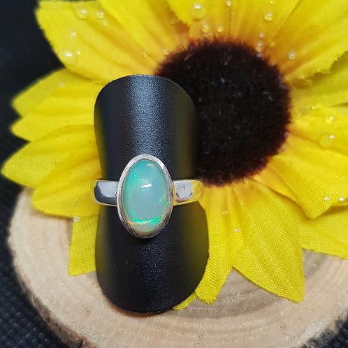 Silberring Opal Starborn