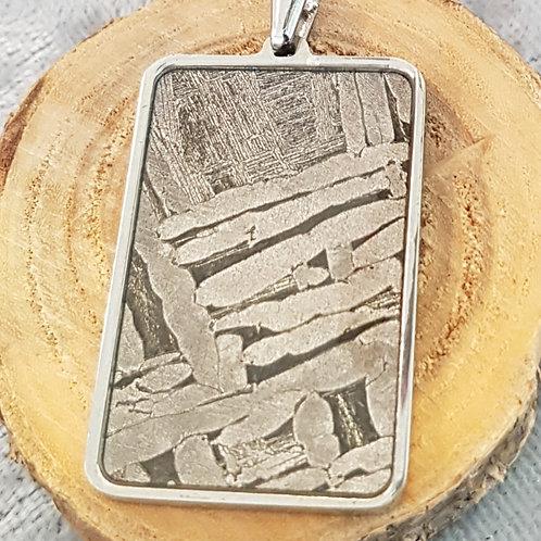 Silberanhänger mit seltenem Seymchan-Meteorit, von Starbornn
