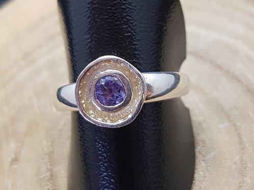 Ring Silber mit Tansanit, von Starborncreations