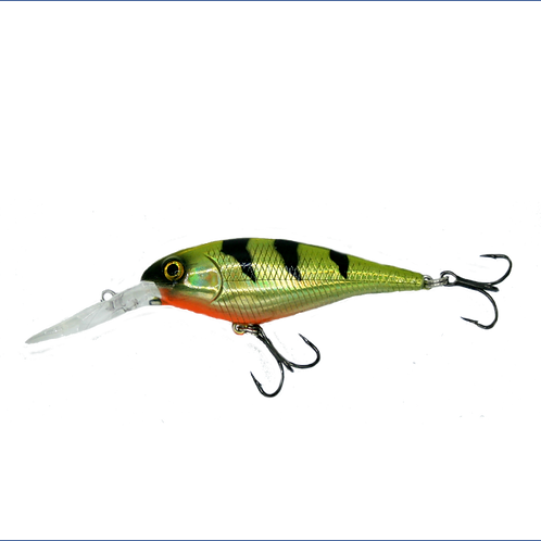 Fat Shad Holographic Lime