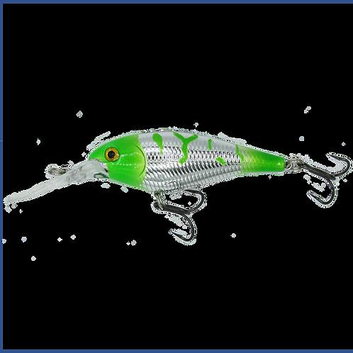 Chrome Shad - Green Grinch