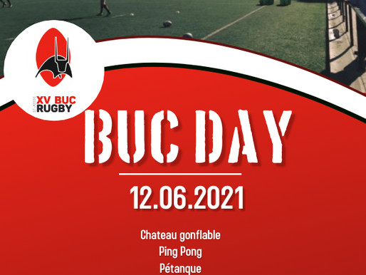 BUC DAY ce 12 juin: le programme