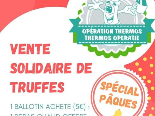 Vente de Truffes au BUC au profit de l'Opération Thermos