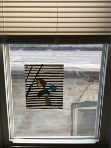 Found You (on my studio window)