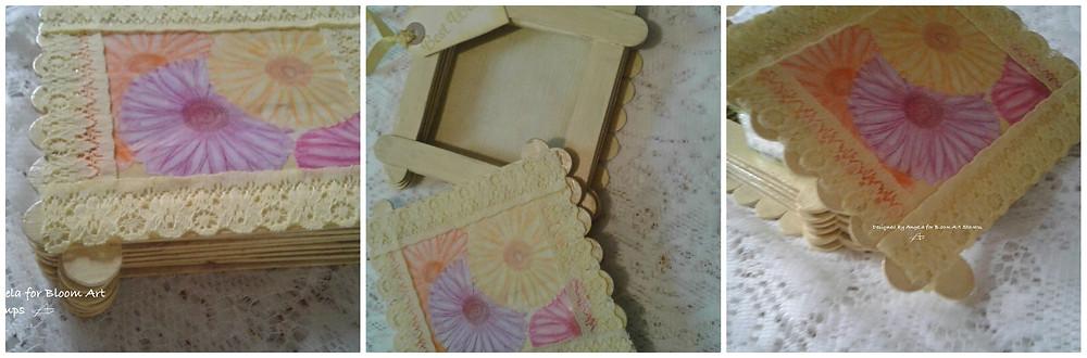 Bloom Art stamp set - 'Gerbera BL022)