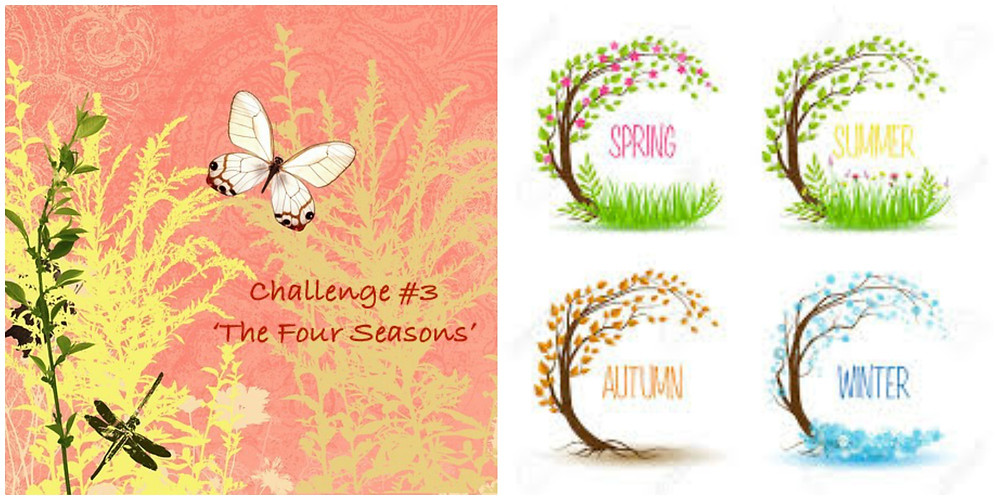 Challenge 3 - The Four Seasons Sponsored by Bloom Art Stamps
