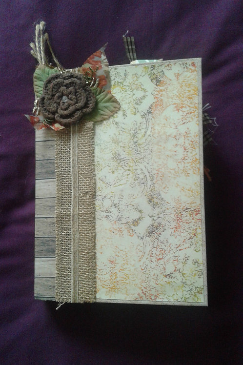 Bullet style Autumnal themed Junk Journal 1/3