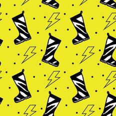 Wild Wellies  Yellow