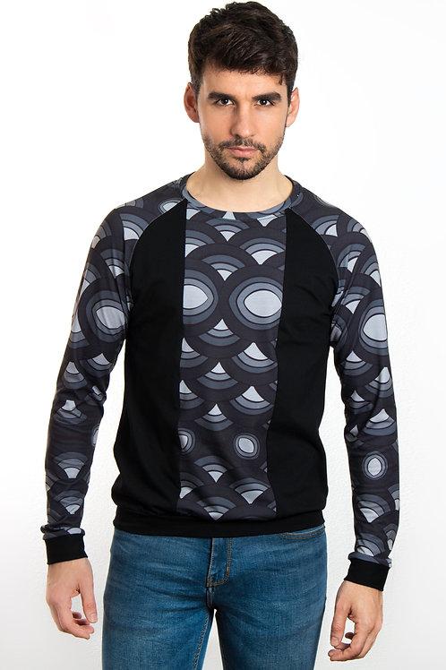 Camiseta mar negro