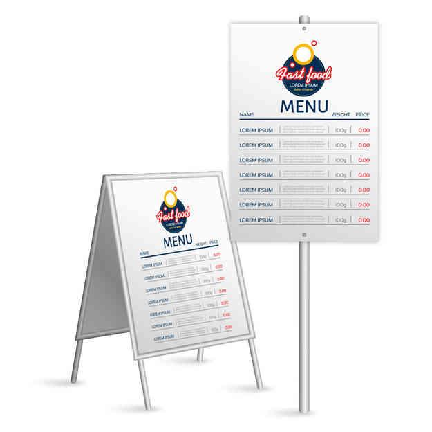 Reklamné tabule a značky