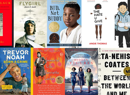 10 Books with Black Protagonists for Middle Schoolers