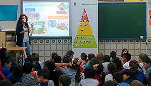 talleres, charlas, alimentacion infantil, cocina, recetas saludables, educacion nutricional,