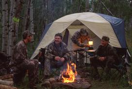 Roadside Deer Camp