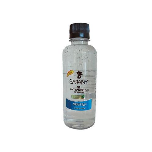 SARANY GEL ANTIBACTERIAL 250 ml NEUTRO CILINDRICO