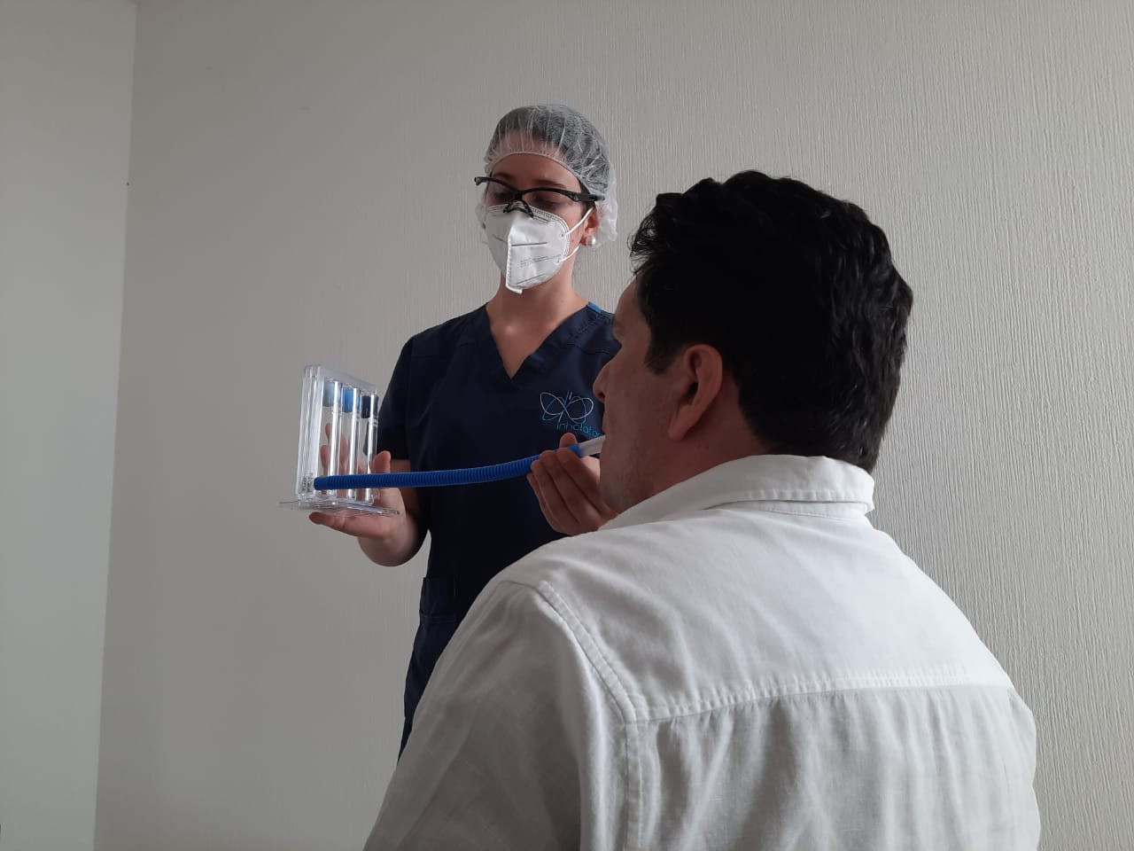 Terapia de rehabilitación pulmonar