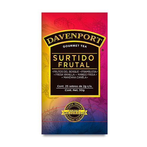 Davenport caja surtidos frutales