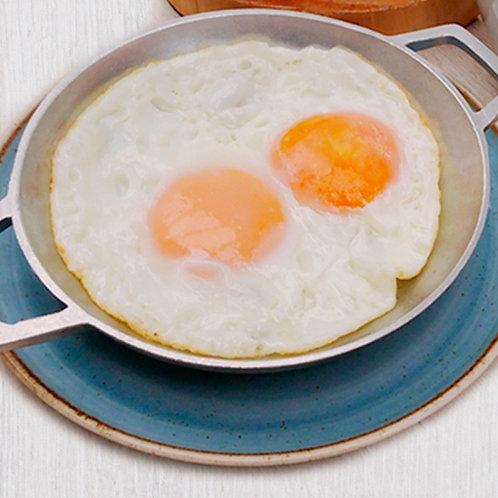 Huevos sencillos  (pericos, fritos o revueltos)