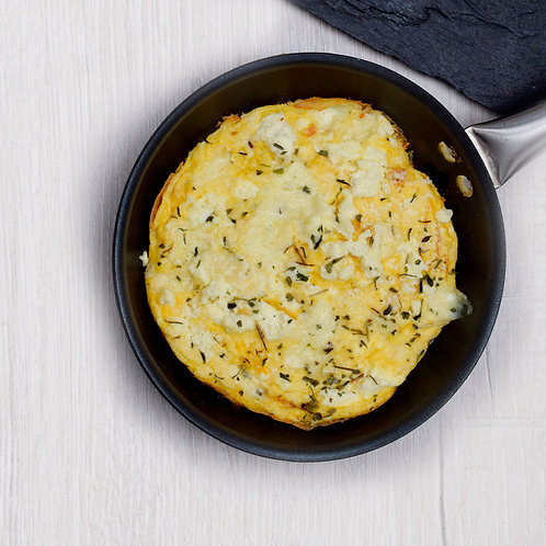 Huevos tres quesos