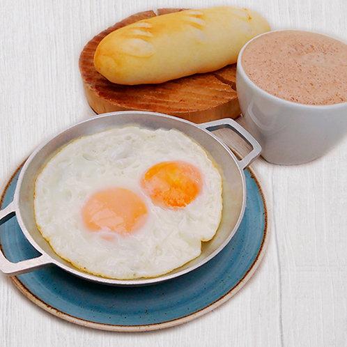 Combo huevos y pandebono
