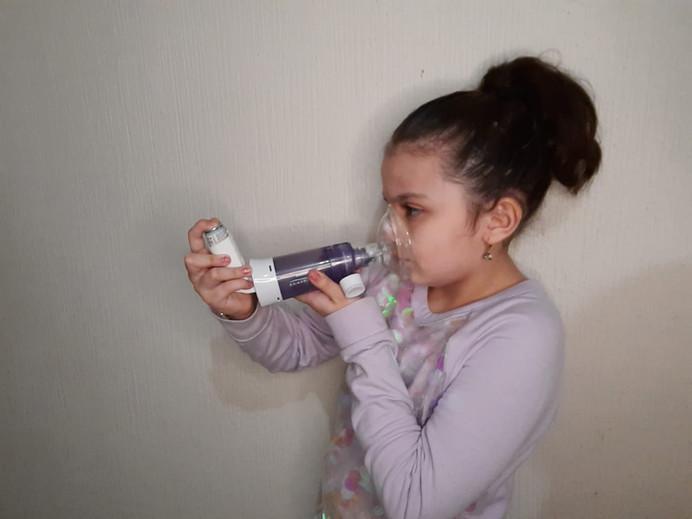 Terapia respiratoria Inhalatory