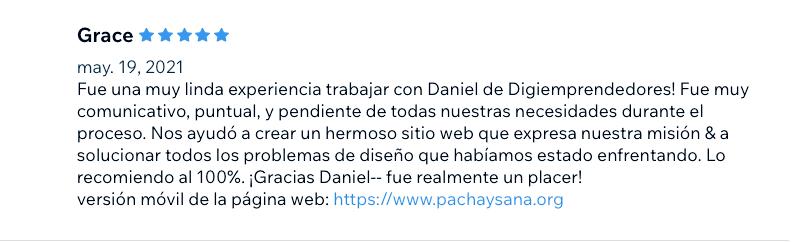 Reviews de clientes Digiemprendedores Pantalla 2021-05-24 a la(s) 5