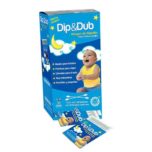 DIP & DUB HISOPOS DE ALGO .Exhib C/ 30 PZAS
