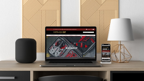 Castellana 100 Bicishop Site & Brand 🇪🇸