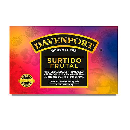 Davenport caja surtidos frutales X60