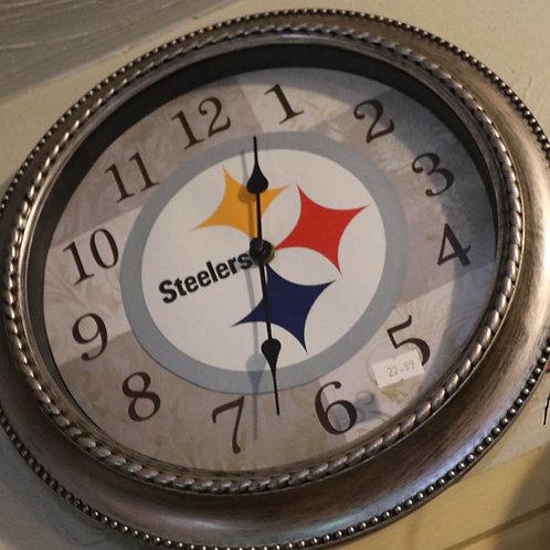 Pittsburgh Steelers Wall Clock