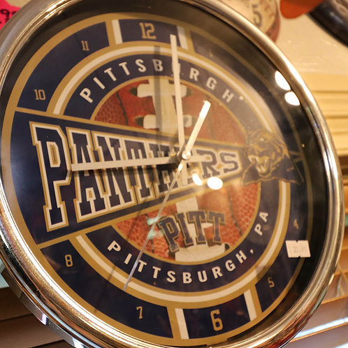 Pittsburgh Panthers Wall Clock