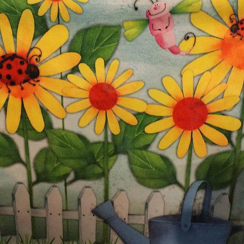 Ladybug Springtime Premium Garden Flag